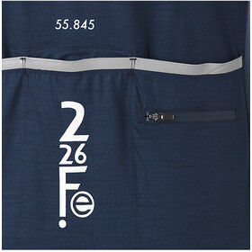 Fe226 DryRide Bike Maglietta A Maniche Lunghe Uomo, tempest blue